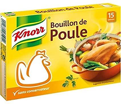 Bouillon de poule, Knorr (15 tablettes, 150 g)
