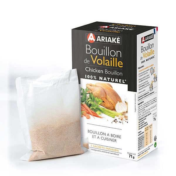 Bouillon de volaille à infuser, Ariake (5 x 33 cl, 71 g)