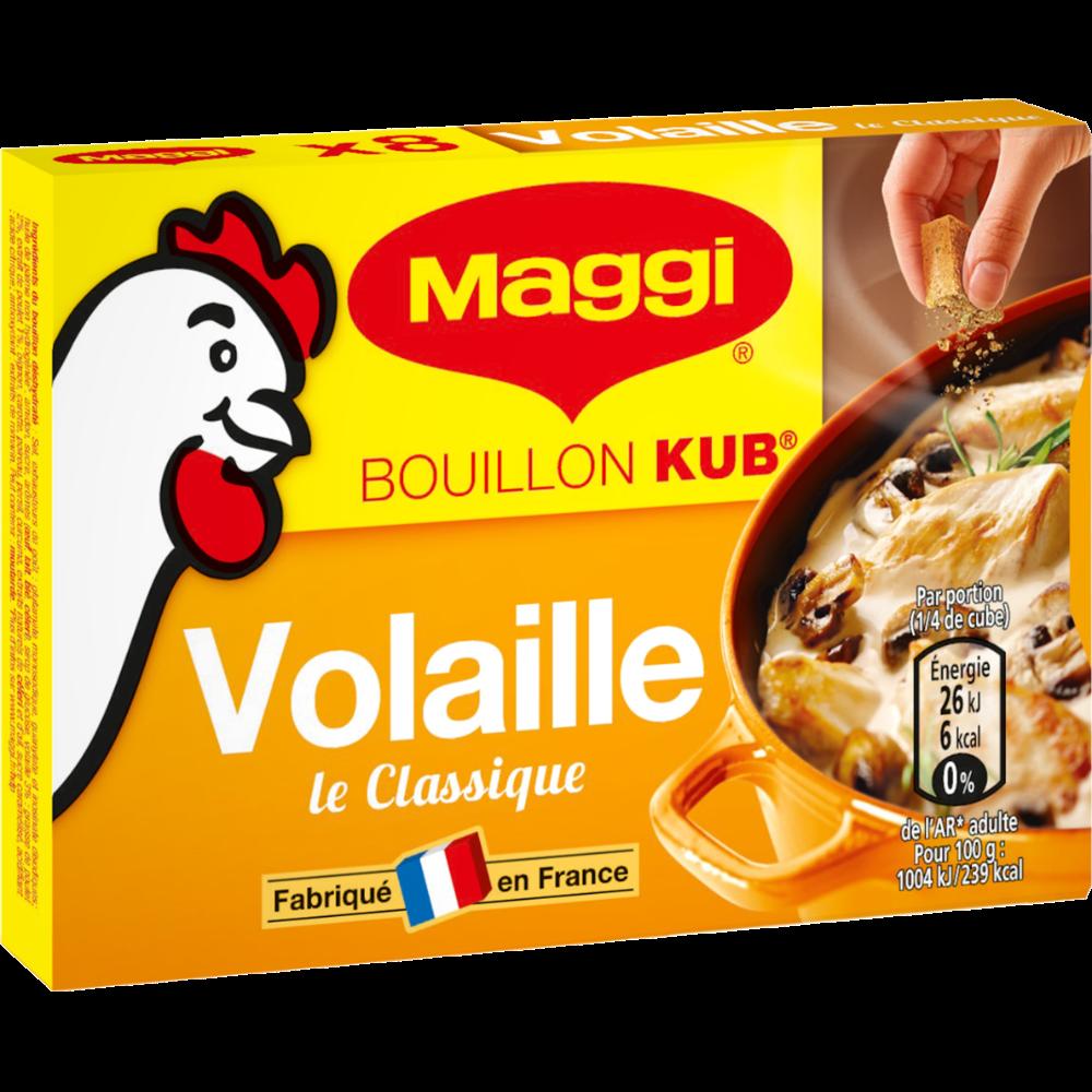 """Bouillon de volaille """"Le Classique"""", Maggi (8 tablettes, 80 g)"""