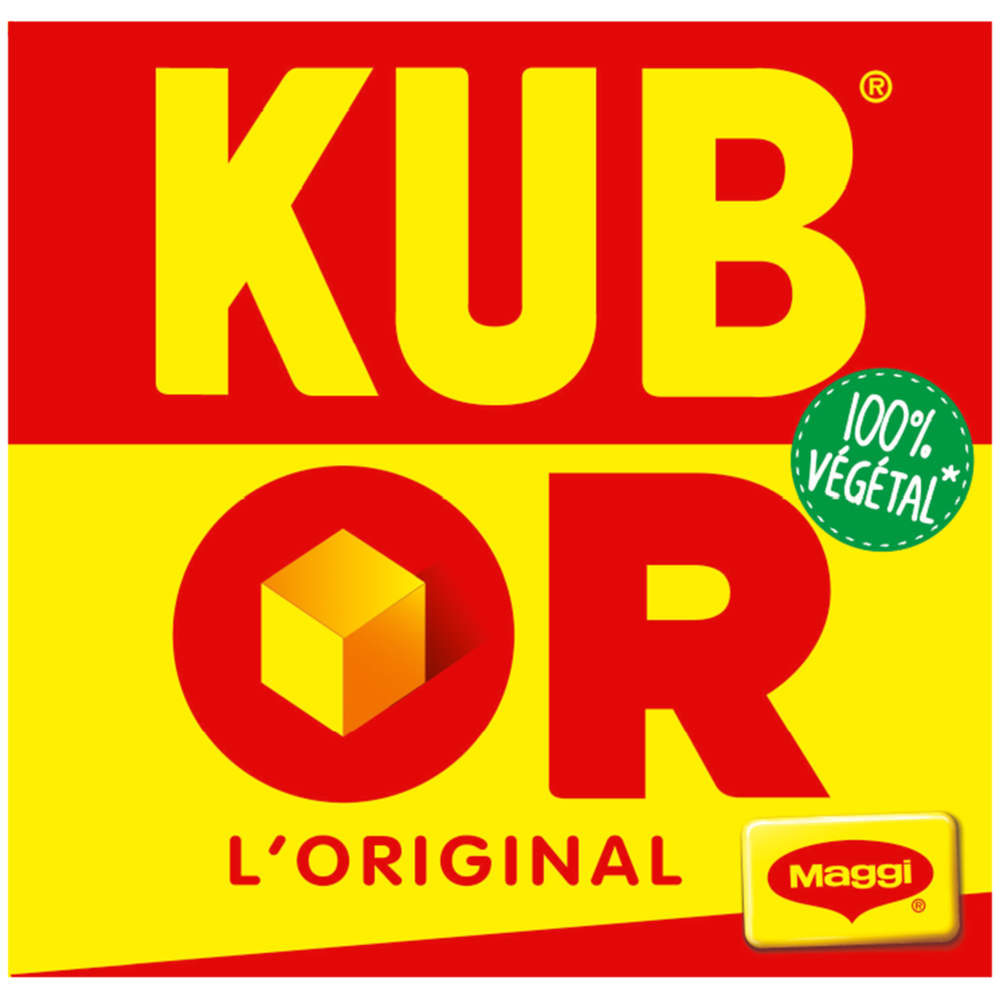 Bouillon l'original Kub Or, Maggi (x 32, 128 g)
