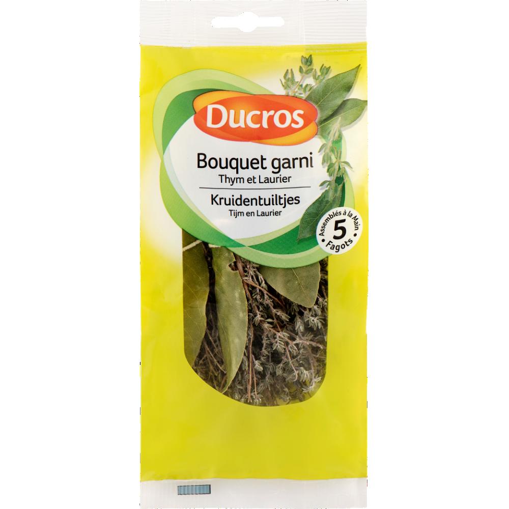 Bouquet garni thym et laurier, Ducros (x 5 fagots, 17 g)