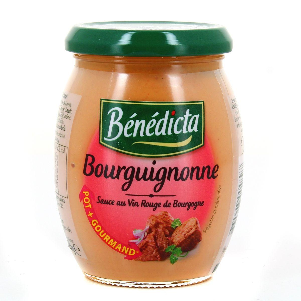 Sauce Bourguignone, Bénédicta (270 g)