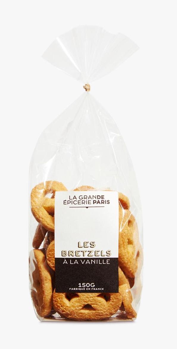 Bretzels à la vanille, La Grande Epicerie de Paris (150 g)