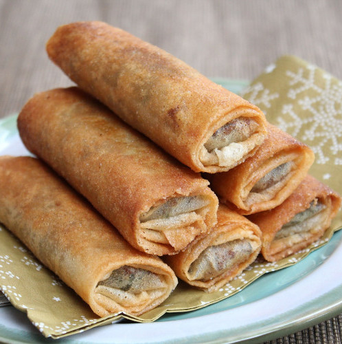 "Bricks cigare ""doigt de fatma"" épinard, cheddar, cajou, amande et pignon (x 4, 250 g)"