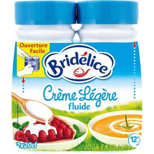 Crème légère Bridélice (2 x 25 cl)