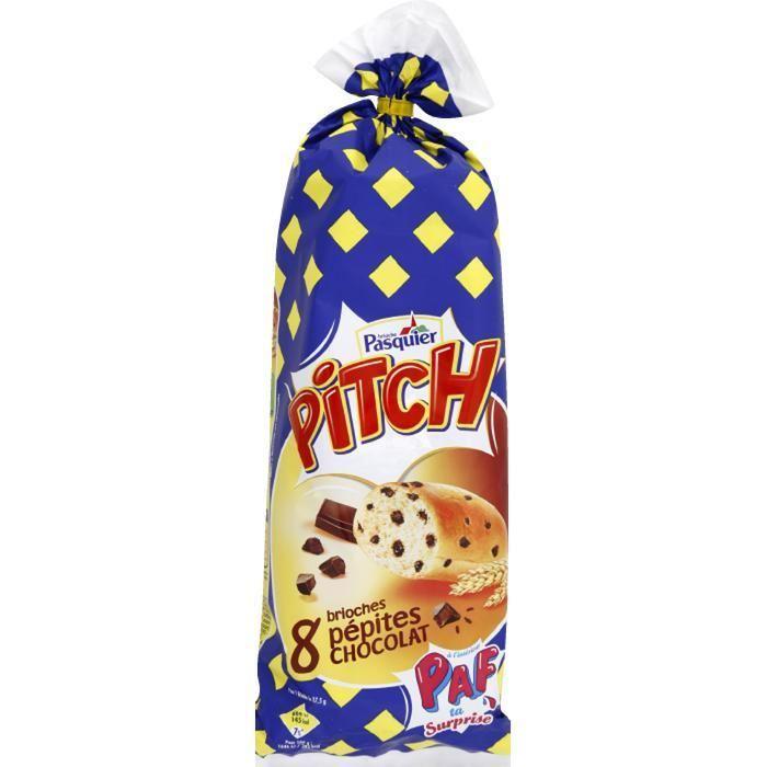 Pitch aux pépites de chocolat, Pasquier (x 8, 300 g)
