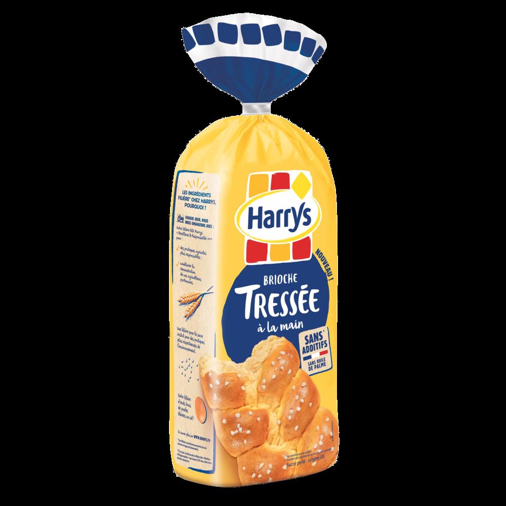 Brioche tressée au sucre perlé sans additif, Harry's (500 g)