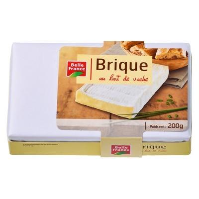 Brique au lait de vache pasteurisé, Belle France (200 g)