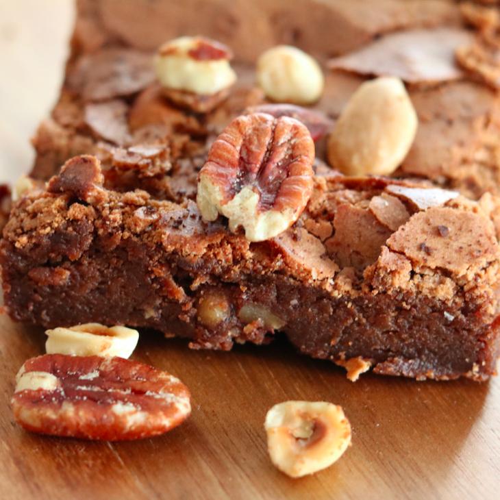 Brownie maison au chocolat Valhrona (pour 1 ou 2, 150 g)