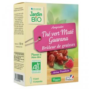 Ampoules Bruleur de graisses - Thé vert & Guarana BIO (x 10)
