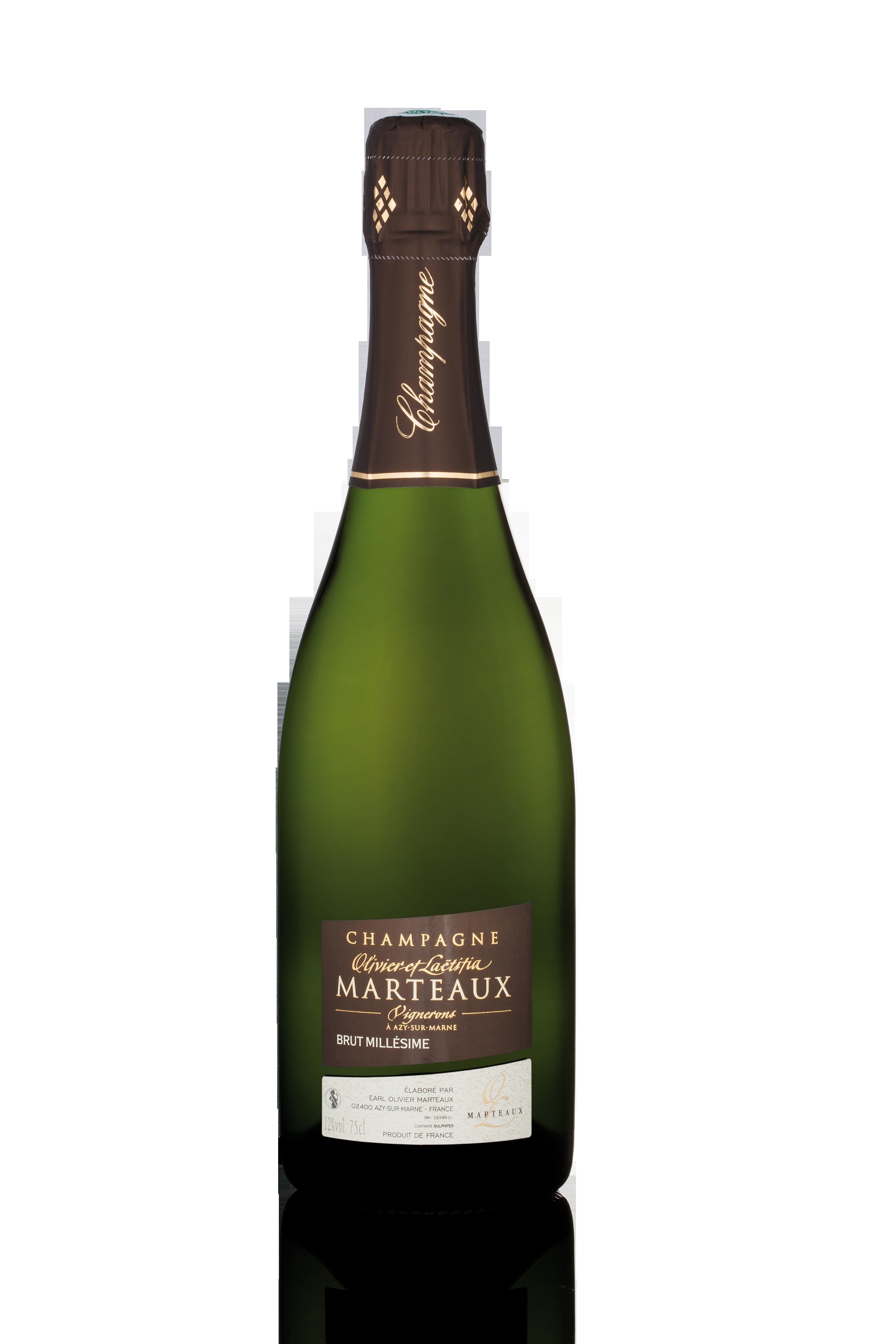 Champagne Brut Millésime 2008, Olivier et Laetitia Marteaux (75 cl)