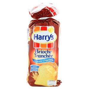 Brioche tranchée 18 tranches, Harry's (500 g)