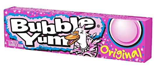 Bubble Yum original chewing gums américains (40 g)