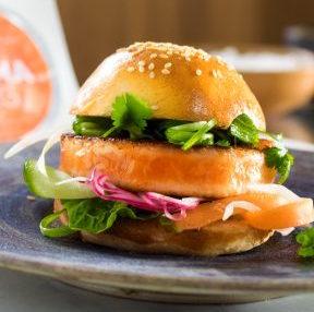 Kit 2 Burger Saumon Salma, tzaziki (pour 2)