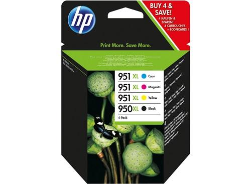 Cartouche HP 950XL /951XL noir et cyan/magenta/jaune