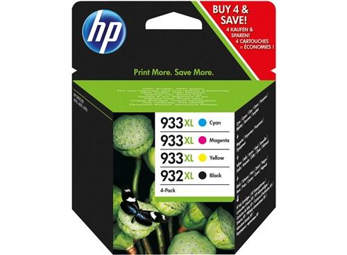 Cartouche HP 932 XL / HP 933XL  noir et cyan/magenta/jaune