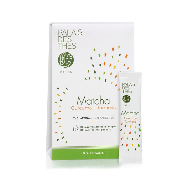 Matcha curcuma BIO, Palais des Thés (x 10)
