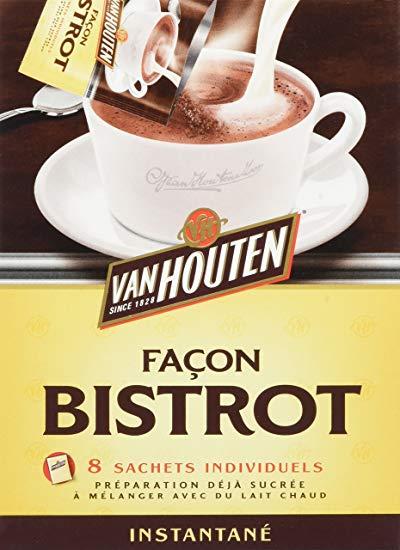 Cacao façon Bistrot, Van Houten (8 x 20 g)