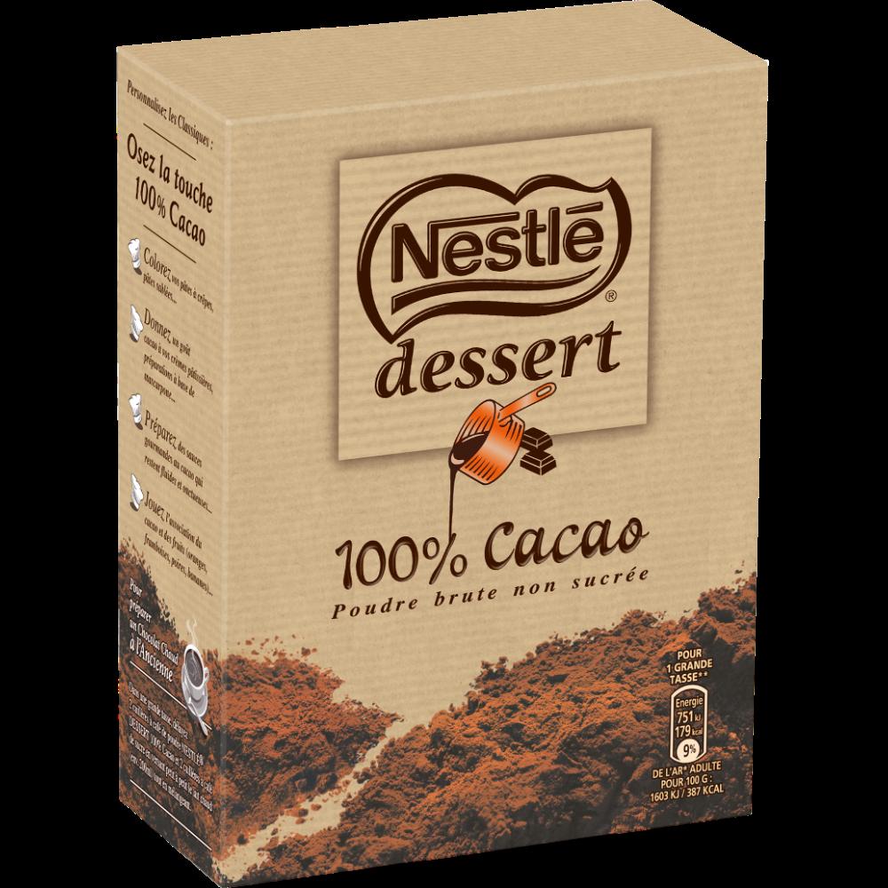 Cacao en poudre, Nestlé dessert (250 g)
