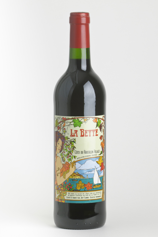 La Bette rouge 2017 AOP Côtes Du Roussillon Villages (75 cl)