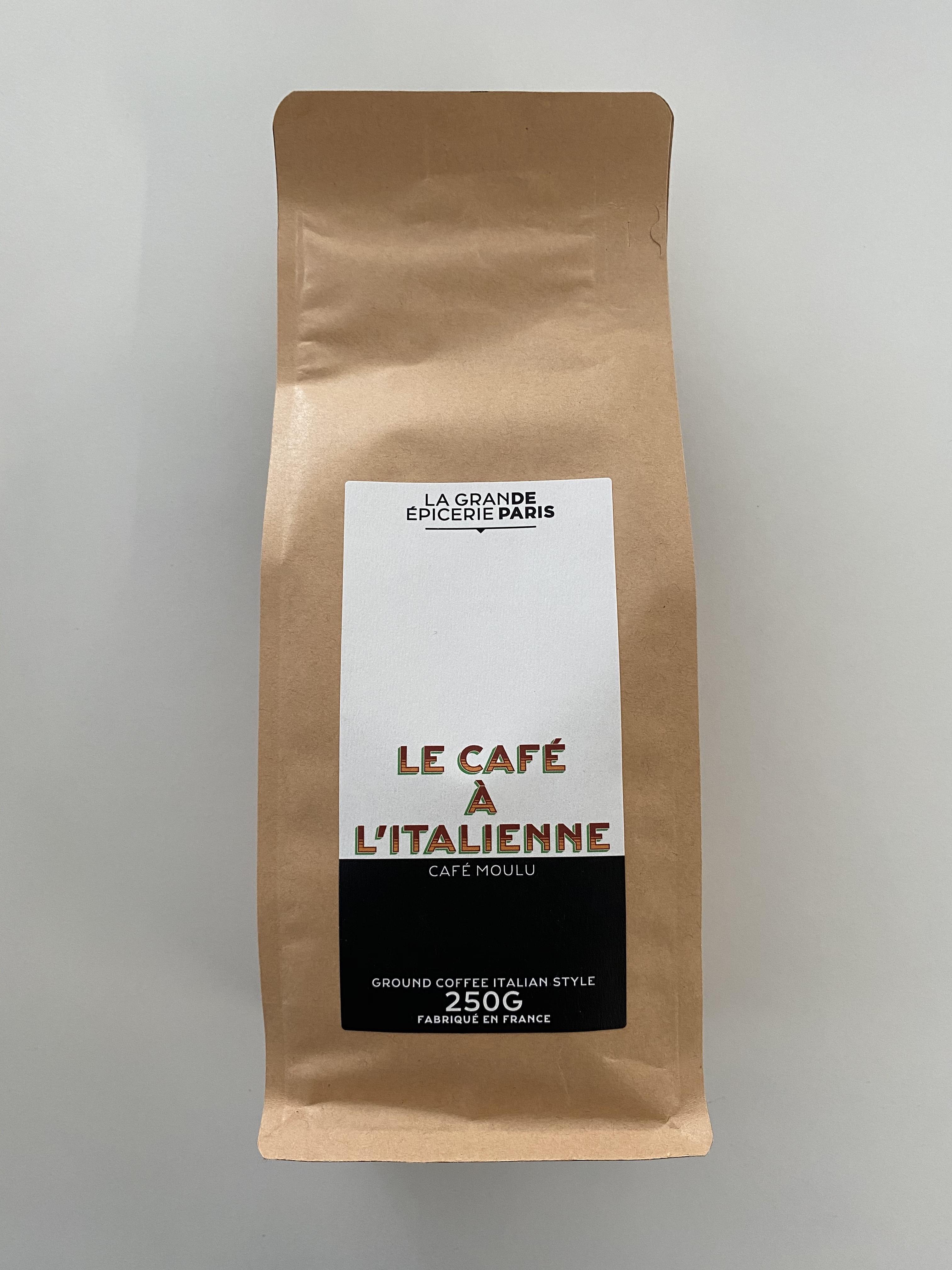 Café à l'italienne moulu, La Grande Epicerie de Paris (250 g)