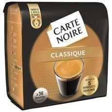 Café dosette classique, Carte Noire (x 36)