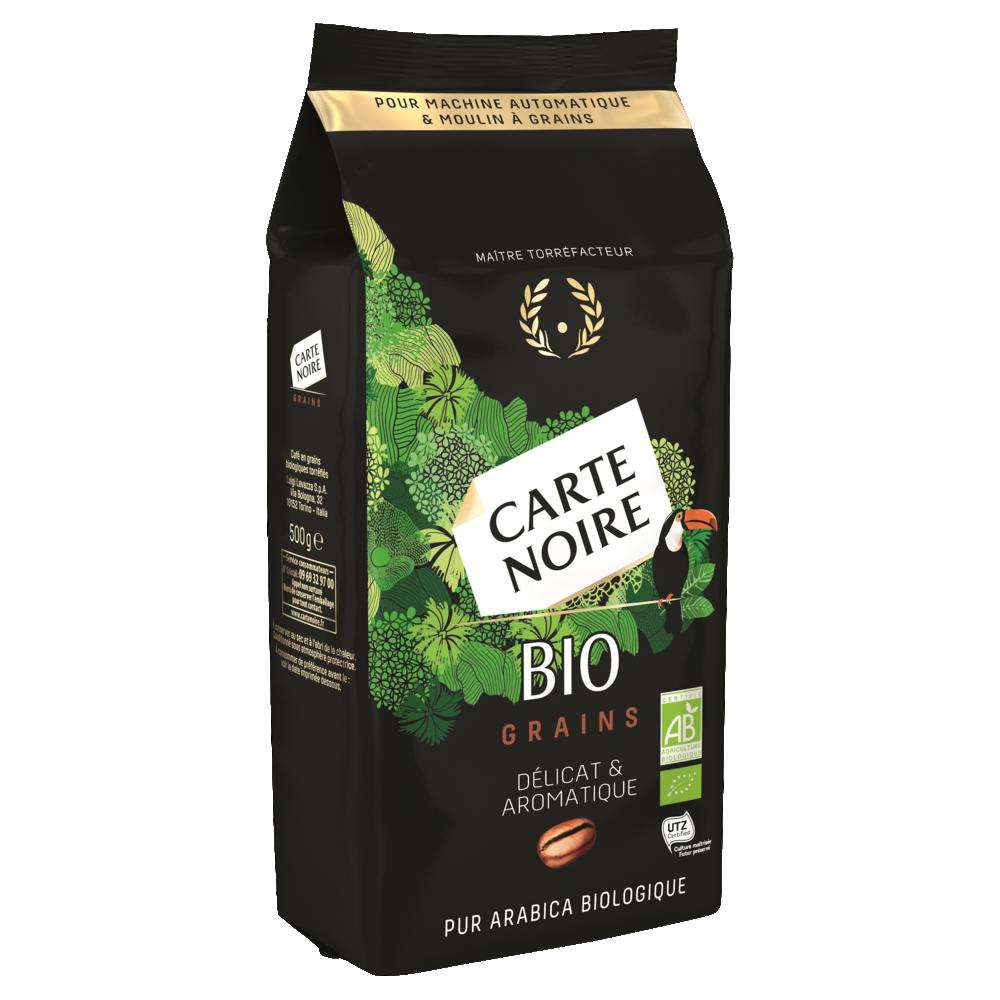 Café en grains BIO, Carte Noire (500 g)