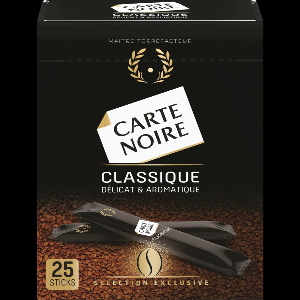 Café instantané, Carte Noire (25 sticks)