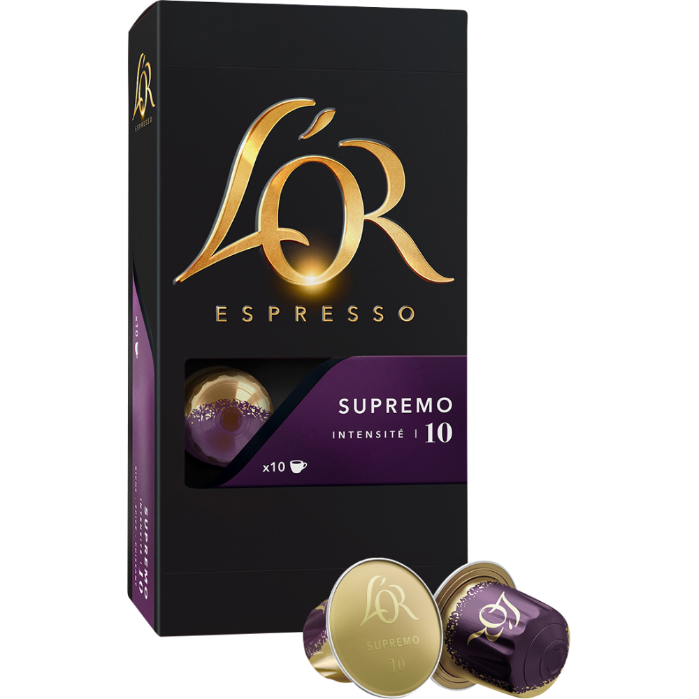 Café capsule Supremo, L'Or Espresso (x 10)