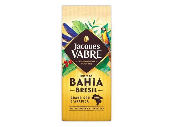Cafe moulu Bahia Brésil, Jacques Vabre (250 g)