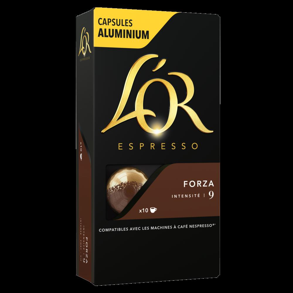 Café capsule Forza, L'Or Espresso (x 10)