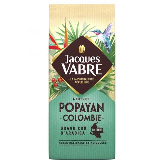 Café moulu Popayan, Jacques Vabre  (250 g)