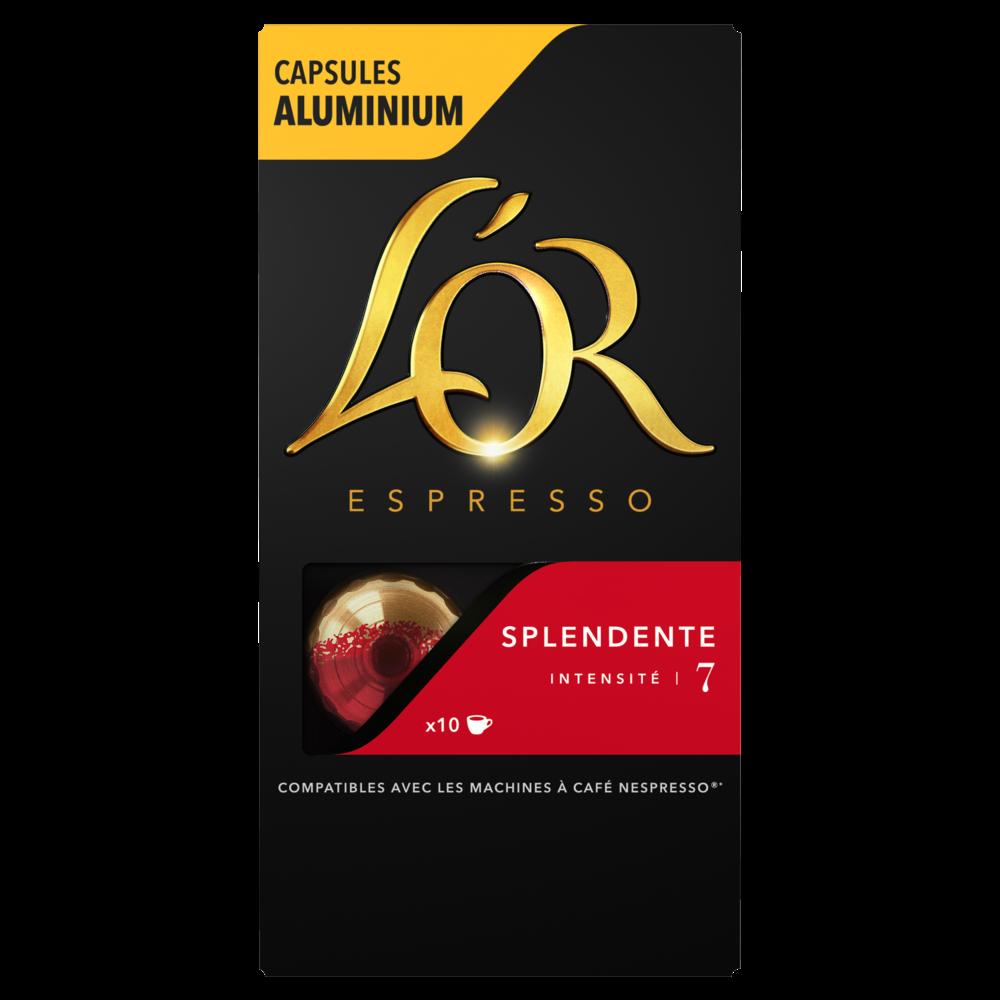 Café capsule Splendente, L'Or Espresso (x 10)