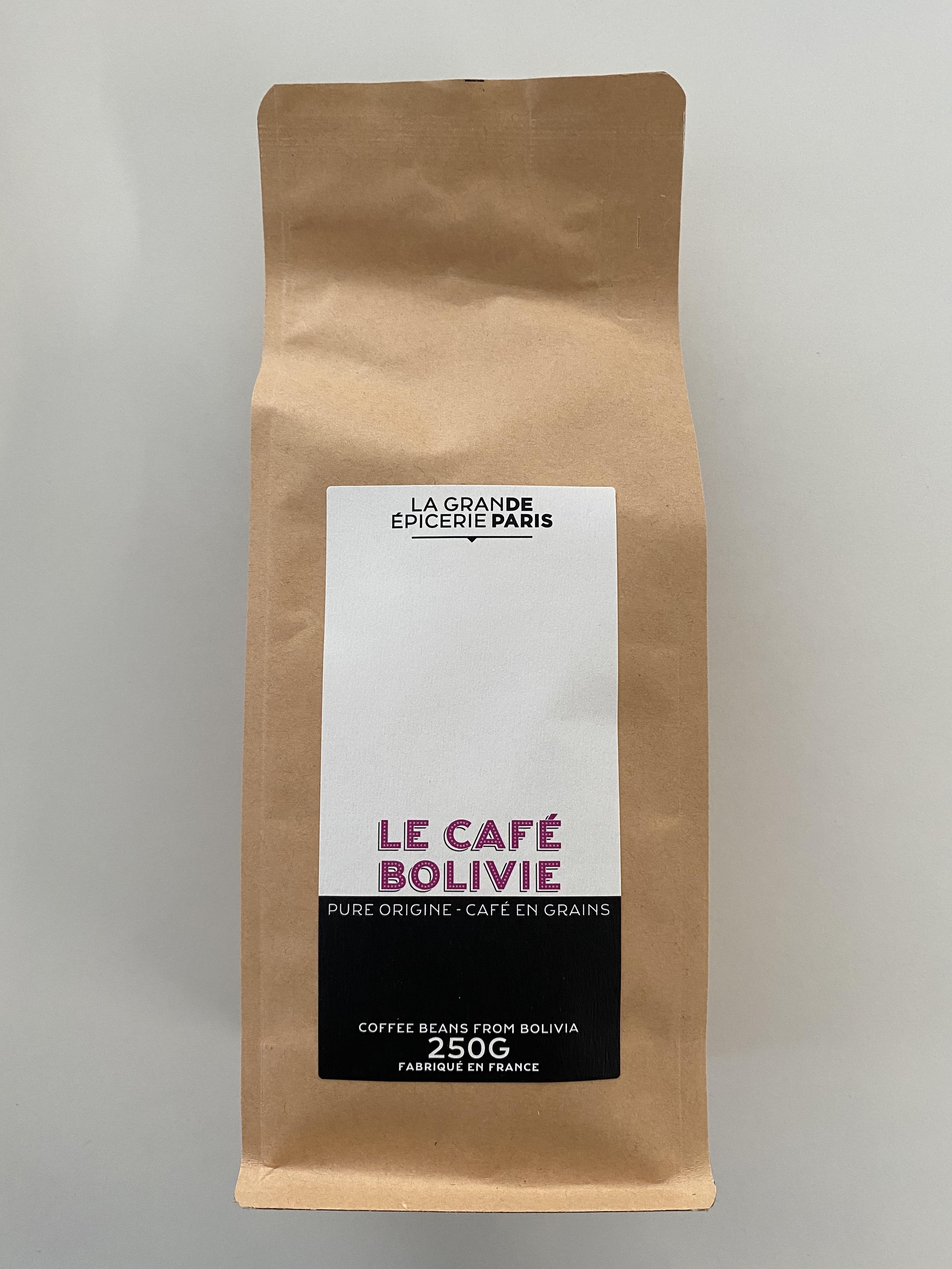 Café origine Bolivie en grains, La Grande Epicerie de Paris (250 g)