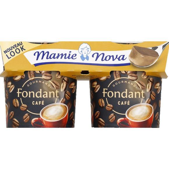 Crème dessert fondant au Café, Mamie Nova (2 x 150 g)
