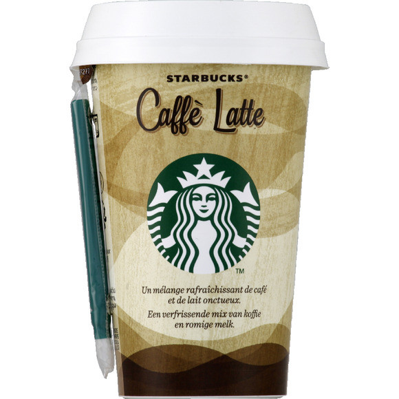 Café latte, Starbucks (220 ml, cup)