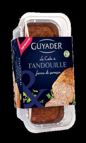 Cake à l'andouille et à la farine de sarrasin, Guyader (160 g)