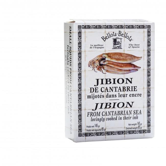 """Calamars de Cantabrie """"Jibion"""", Bellota-Bellota (145 g)"""