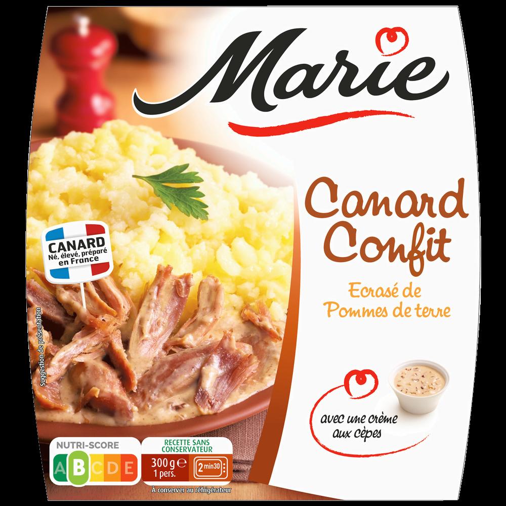 Canard confit écrasé de pomme de terre, Marie (300 g)