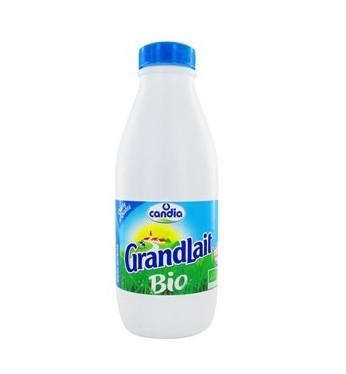Grandlait BIO demi-écrémé, Candia (1 L)
