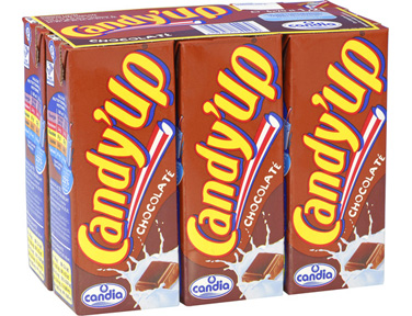 Candy'up au chocolat, Candia (6 x 20 cl)