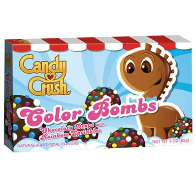 Bonbons au chocolat multicolores, Candy crush (99 g)