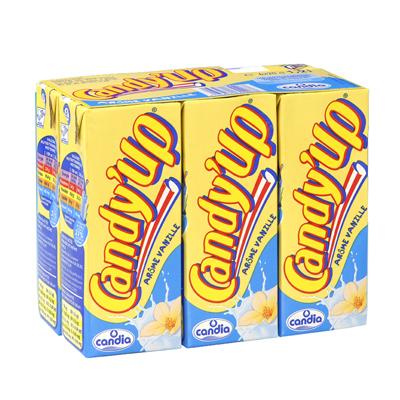 Candy'up à la vanille, Candia (6 x 20 cl)