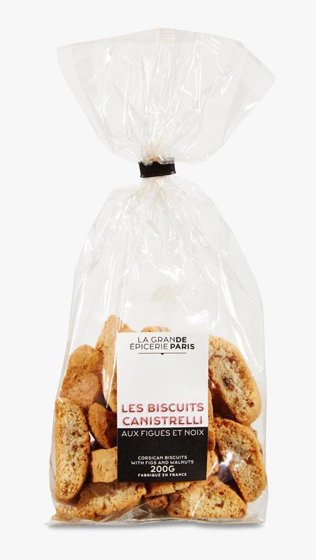 Canistrelli aux figues et noix, La Grande Epicerie de Paris (200 g)