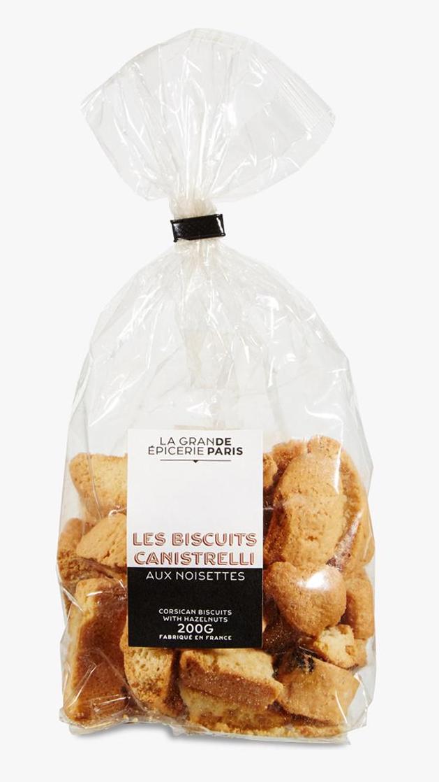 Canistrelli aux noisettes, La Grande Epicerie de Paris (200 g)