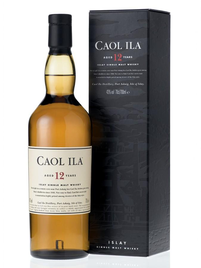 Whisky Caol Ila 12 ans d'âge (70 cl)