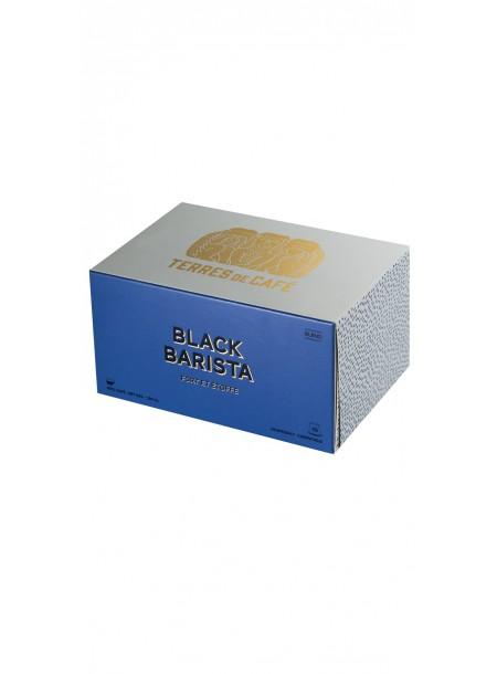 Café capsule Black Barista, Terres de café (x 10)