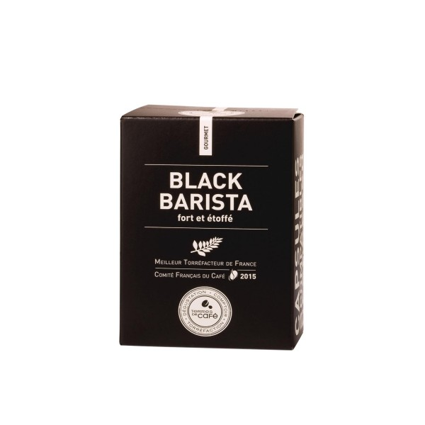 Café capsule Black Barista - Terres de café (x 10)