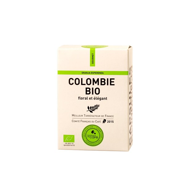 Café capsule Colombie Bio - Terres de café (x 10)
