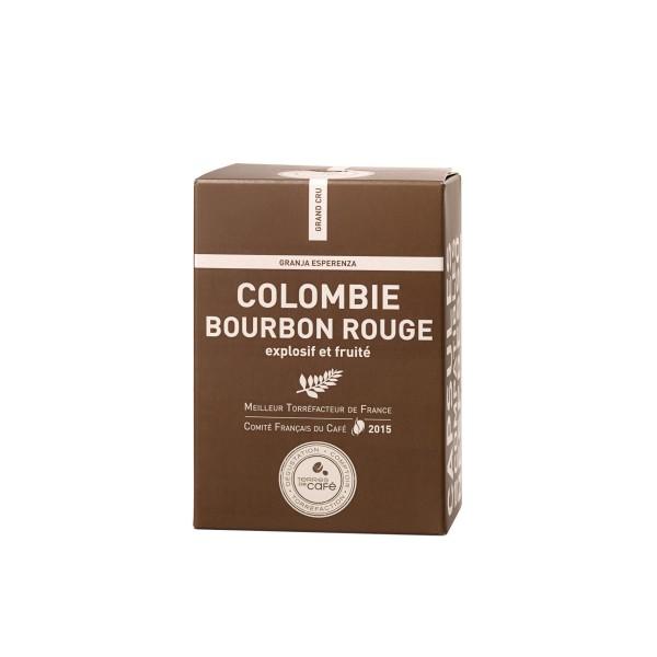 Café capsule Colombie Bourbon Rouge - Terres de café (x 10)